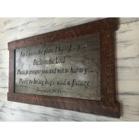 Buy Metal Sign, Scripture Wall Art, Metal Wall Art, Wall ...
