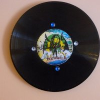 Buy Bob Marley Recycled Vinyl/CD Record Wall Clock Art by ...