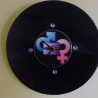 Buy Equality For All Recycled Vinyl Record/CD Clock Wall