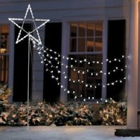 Buy SALE 7 Foot Lighted Pre Lit Shooting Star Display ...