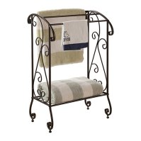 Buy Pilaster Designs - Metal Free Standing Towel Rack ...