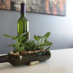 Cut Gloves For Kitchen Delta Victorian Faucet Buy Wine Bottle Garden Succulent Complete Planter Kit ...