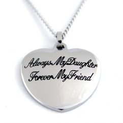 Kitchen Appliances For Sale Damascus Steel Knives Buy Always My Daughter Forever Friend Heart Pendant ...