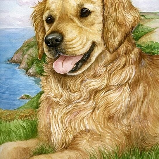 Home Accents Golden Retriever