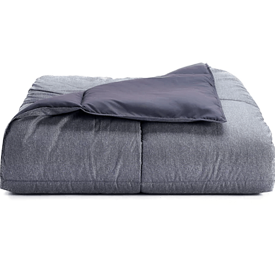 gray twin weighted blanket