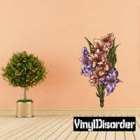 Buy Floral Bouquet Flower Vinyl Wall Decal Or Car Sticker ...