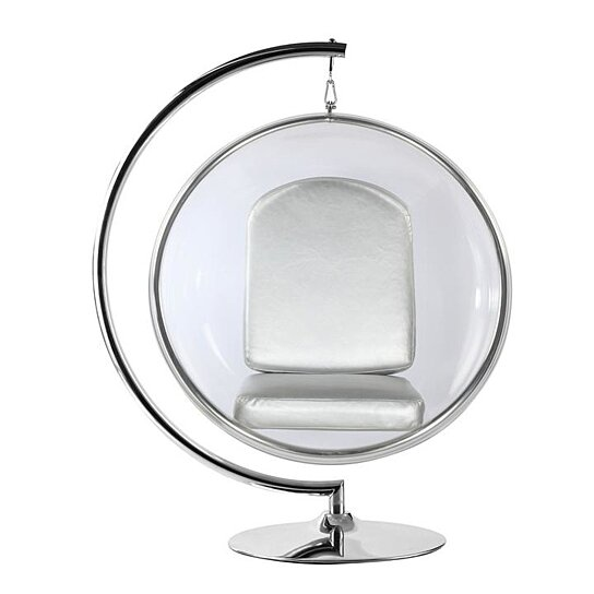 eero aarnio bubble chair wood repair buy modholic silver cushion with stand by world modern design on dot bo