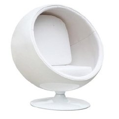 Modern Ball Lounge Chair Cheap Hand Buy Modholic Eero Aarnio Style Globe White By World Design On Dot Bo