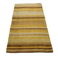 Buy Indo Hand-Tufted Striped Wool Rug by ZallZo on OpenSky