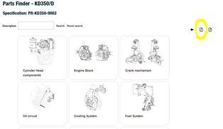 Kohler / Lombardini Diesel Parts manuals