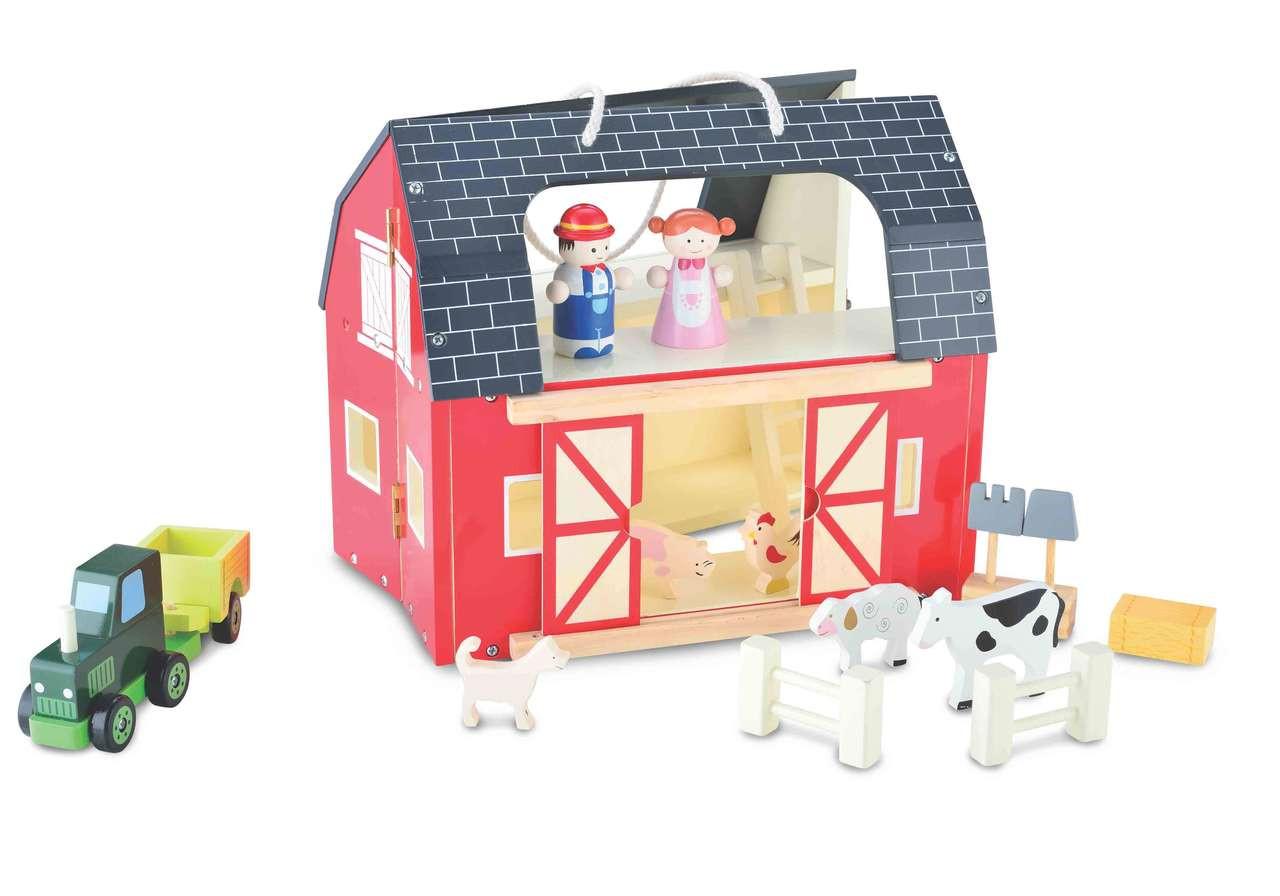 Bubbadoo Wooden Toy Farm Playset Australian Toy Distributors