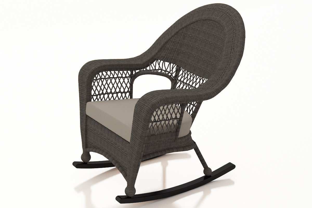 Wicker Rocking Chair Forever Patio Catalina Wicker High Back Rocker By Northcape International