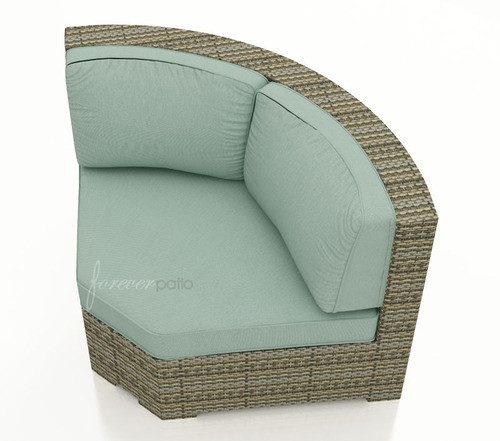 replacement cushions for forever patio hampton sectional 45 degree corner chair