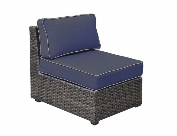 replacement cushions for forever patio horizon sectional middle armless chair