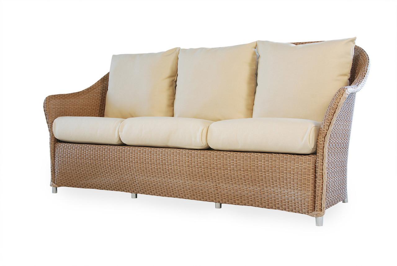 Lloyd Flanders Weekend Retreat Wicker Sofa - Modern