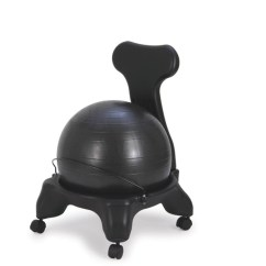 Balance Posture Chair Leg Extenders Sivan Health And Fitness Back Rest Ball With Image 1