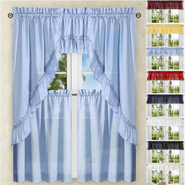 kitchen curtians aid 5 qt mixer curtains tiers swags valances lace stacey solid