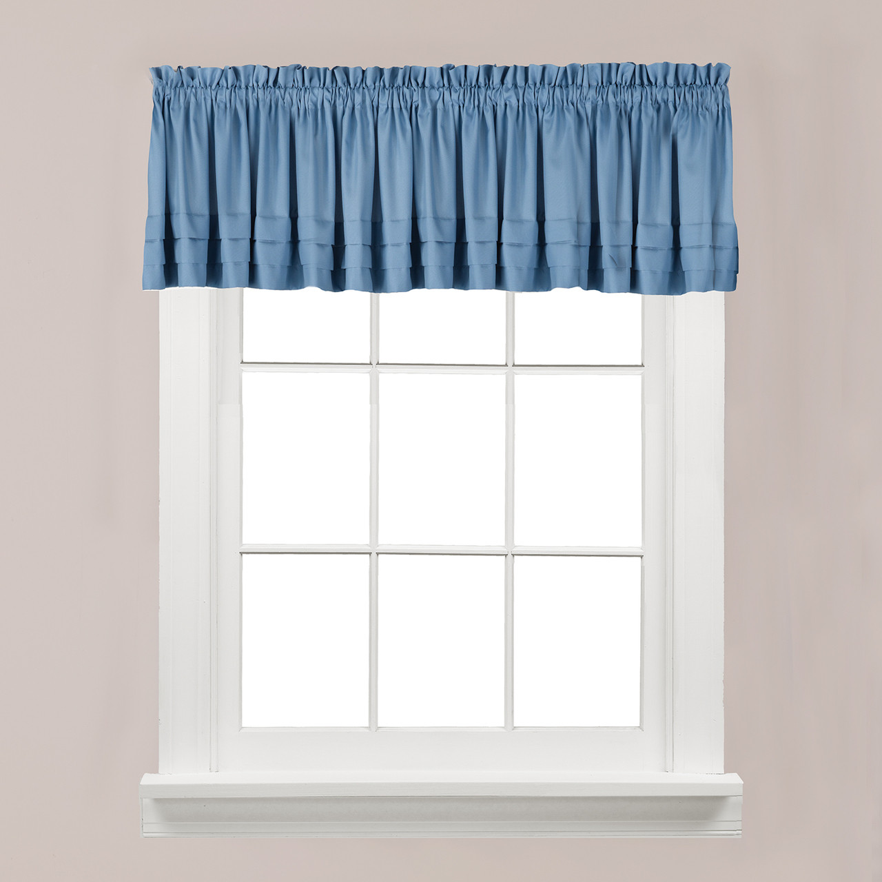 blue kitchen valance gerber faucet holden smoke linens4less com from saturday knight
