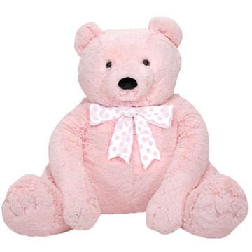pinky bear big stuffed