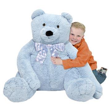 blueberry bear big stuffed
