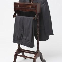 Bedroom Wardrobe Chair Valet How To Fix A Glider Rocking Men S Stand Laurel Crown Furniture