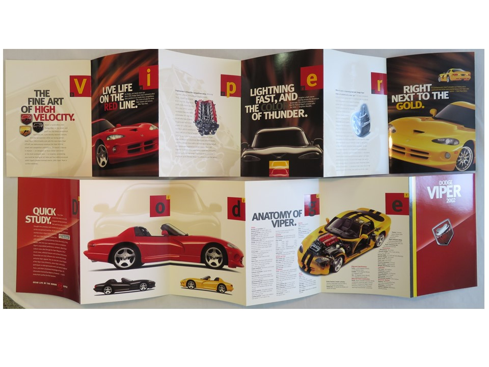 2002 Dodge Viper Posters
