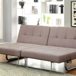 Sleeper Sofa No Arms Two Living Room Design Merritsville Split Back Fabric Futon Beds Bed With Extension
