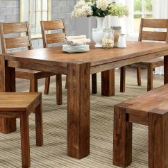 Oak Kitchen Table Sets Sinks Houzz Furniture Of America Cm3603t Dark Dining Set Tables And Chairs