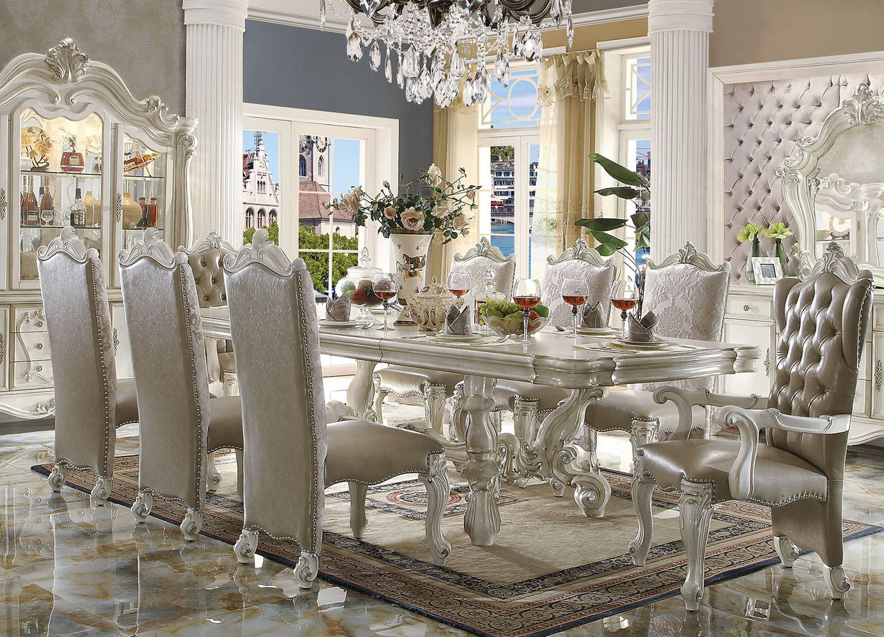 White Dining Room Chair 120