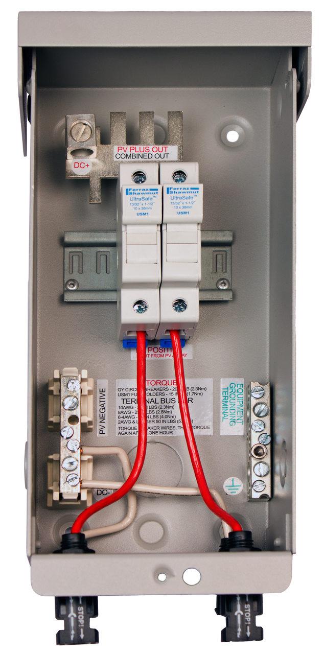 medium resolution of midnite solar mnpv2 mc4 pre wired combiner box solarissolar panel box wiring 20