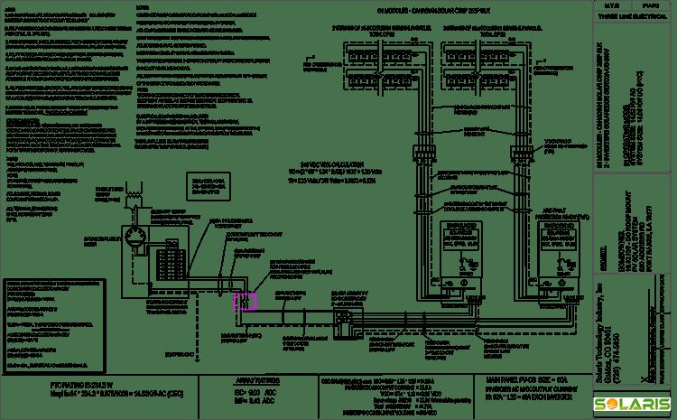 2 Pole Wiring Diagram Residential Single Line Diagram Solaris