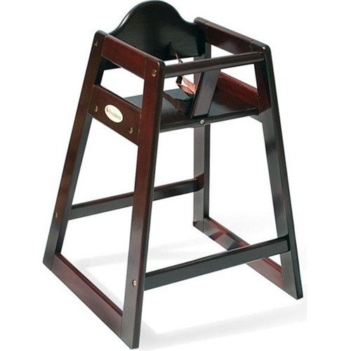 high chair restaurant papasan target foundations antique cherry wood 4501859 chairs image 1