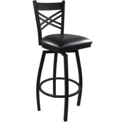 Chair Stool Black Tall Dining Room Covers Advantage Metal Swivel Bar Sbxb Bfbv Pub Image 1