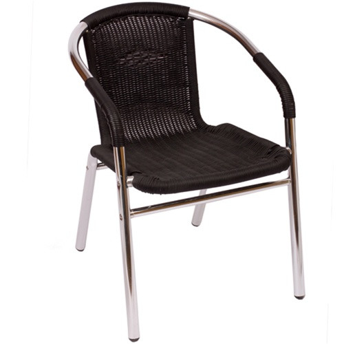 outdoor restaurant chairs sports brella chair bfm seating madrid arm ms21c cafe for sale