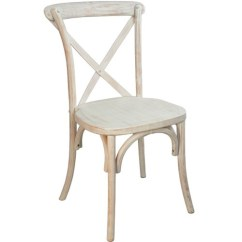 White X Back Chair Garden Covers Uk Advantage Lime Wash Image 1