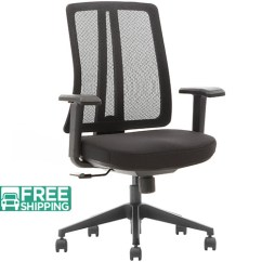Durable Office Chairs Slipcovers For With T Cushion Black Mesh X1 03s 2 Furniture Sale