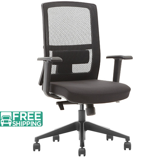 durable office chairs wooden chair black mesh x3 52bt mf furniture for sale