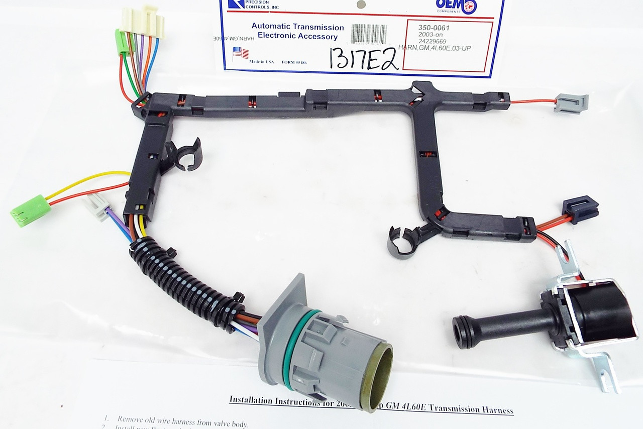 hight resolution of wire harness w tcc lock up solenoid 4l60e 2003 up gm 4l60e external wiring harness 4l60e wire harness