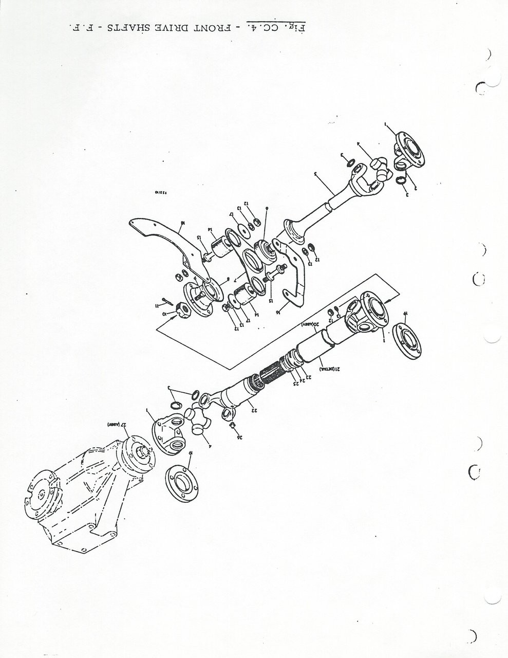 medium resolution of ff front drive shafts