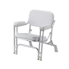 Marine Deck Chairs Electric Chair Prop Kit White Padded Wholesale