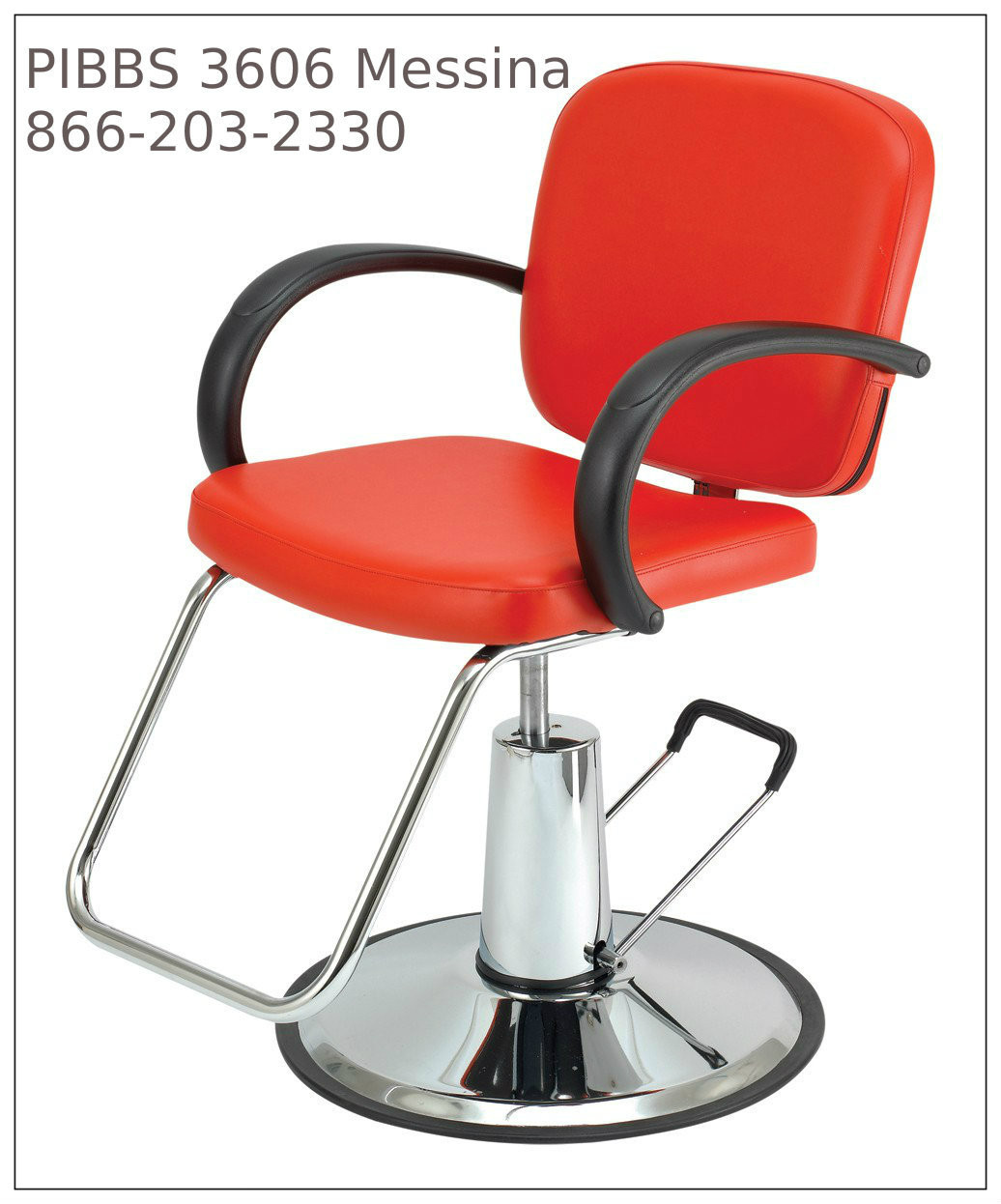 Hydraulic Styling Chair Messina 3606 Styling Chair