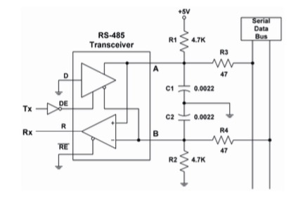 Under Development: SAE J1708 to UART Breakout Board For