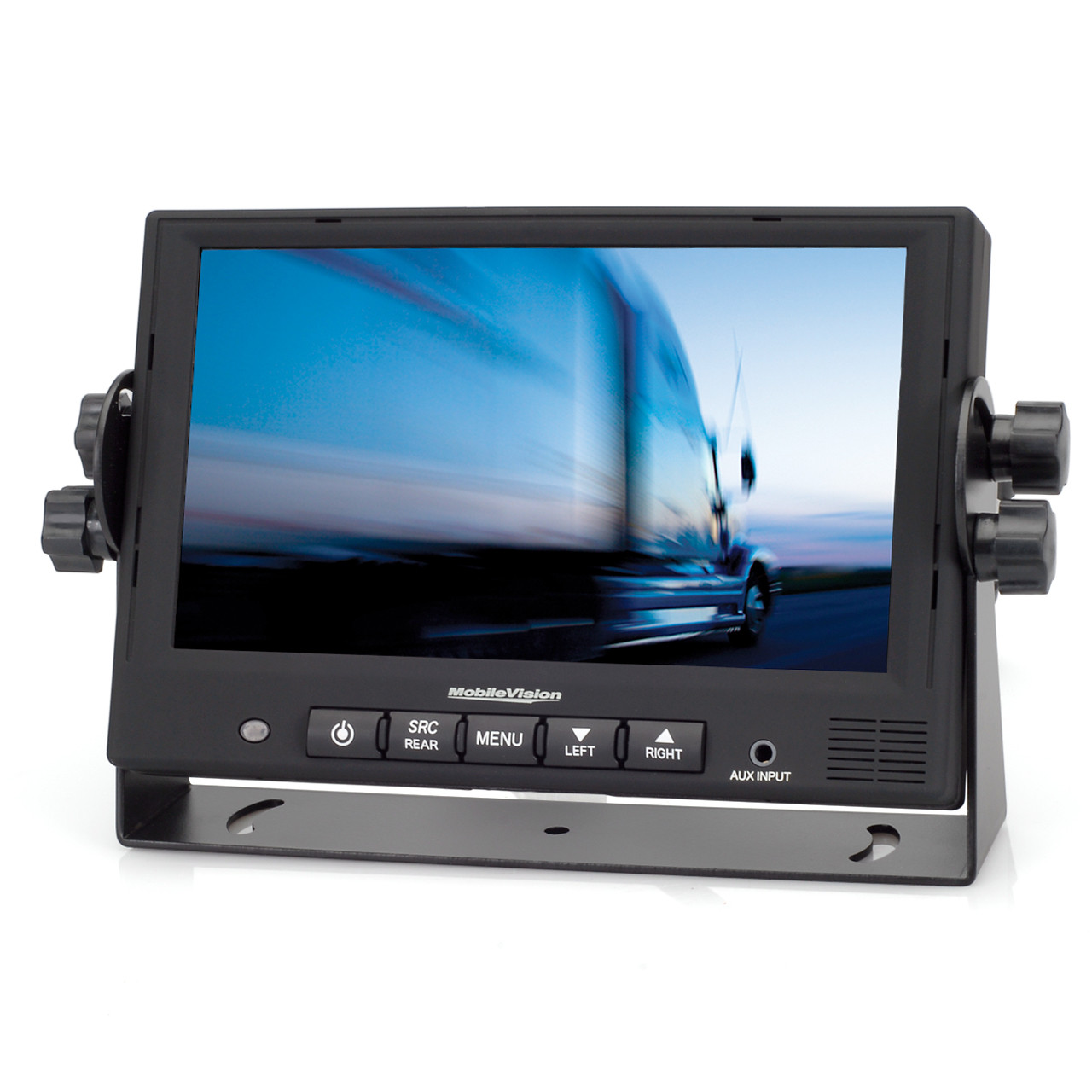 medium resolution of mobilevision m130c 7 color lcd safety camera monitor front view