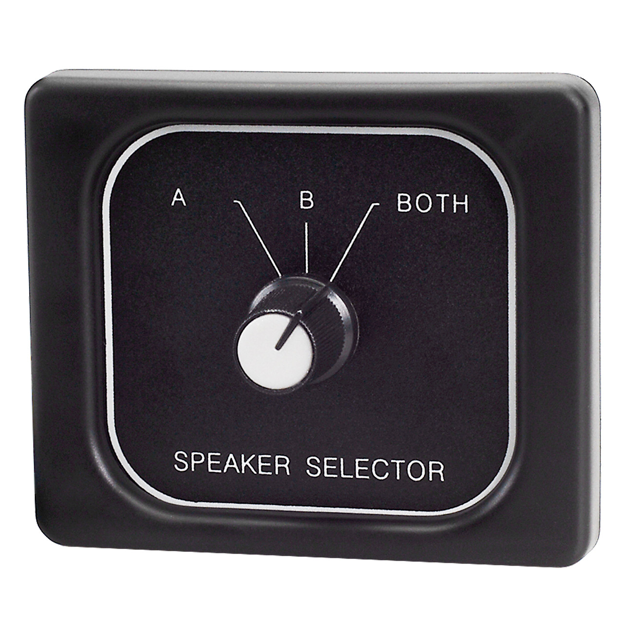 hight resolution of magnadyne c45 3800a 3 position speaker selector switch front view