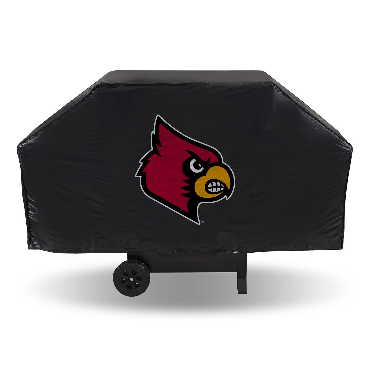 Louisville Cardinals Economy Grill Cover Black - Biggsports