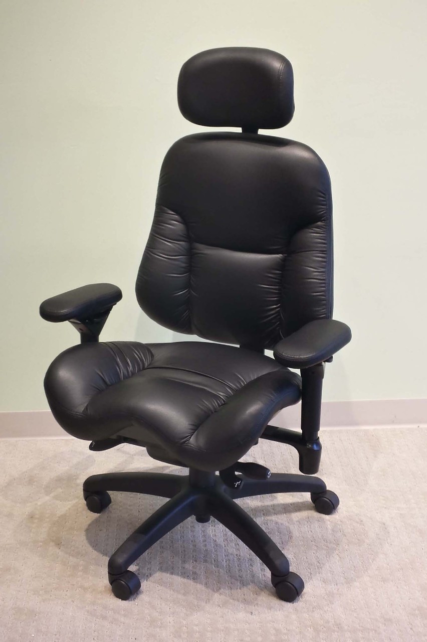 Executive Leather Chair Bodybilt 3500 Executive High Back Leather Chair By Ergogenesis