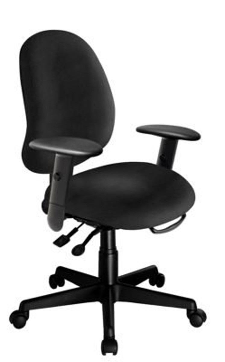 Work Chair Ergocentric Saffron R Petite Work Chair