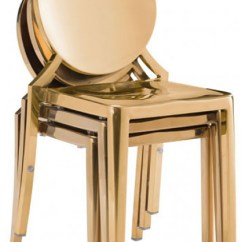 Gold Dining Chairs Wedding Chair Covers Hampshire Eclispe Zuo 100553 Modern Eclipe