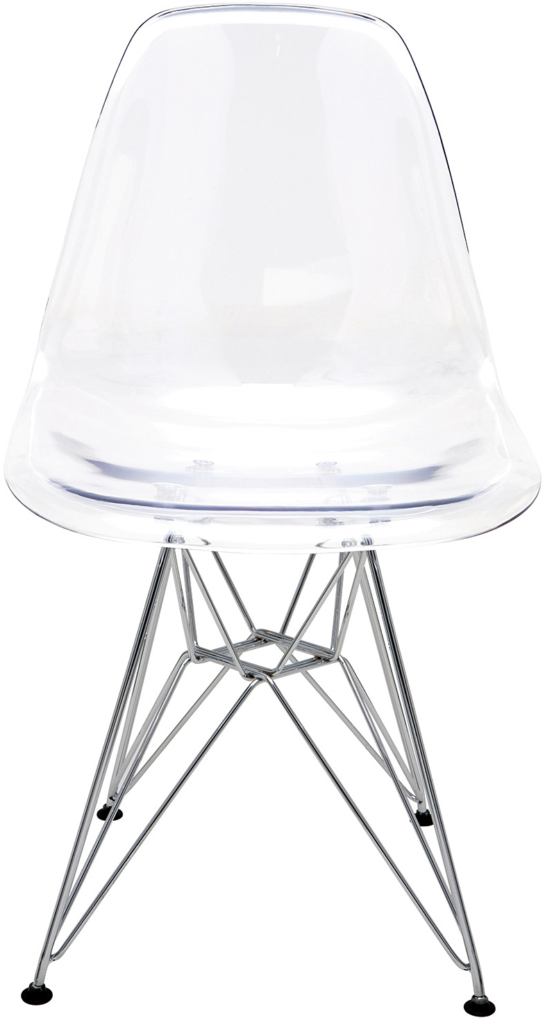 transparent polycarbonate chairs recliner garden chair cushions uk clear molded the