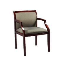 allsteel relate chair reviews aluminum webbed lawn chairs task mahogany wood light gray guest